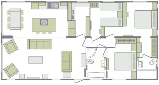 Luxury Lodges Floorplan