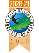 David Bellamy Conservation Award – Gold